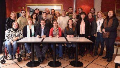 Stegmayer y Rusconi presentaron el Frente Socialista y Popular en La Plata
