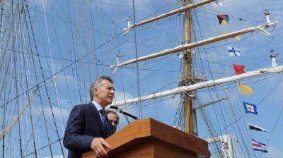 Macri encabezó el acto por el Día de la Independencia desde Hamburgo