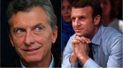 Macri y Macron dialogaron sobre el acuerdo entre Mercosur - UE Finalmente, Macri pudo hablar con Macron