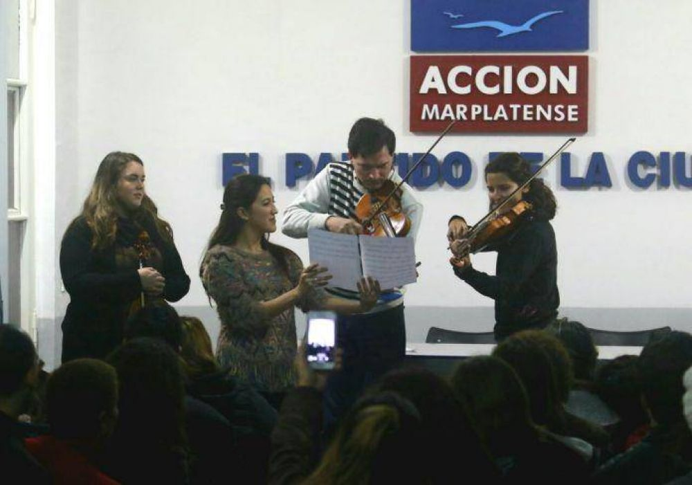 Anuncian la vuelta de la orquesta infanto juvenil