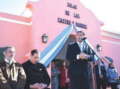 Casas presidió el acto central por el Día de la Independencia
