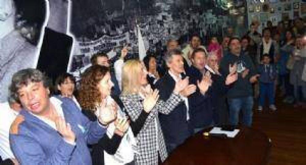 Se presentaron los candidatos locales de Cumplir, la lista de Florencio Randazzo