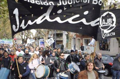 Judiciales bonaerenses realizarán nuevo paro de 48 horas desde el miércoles