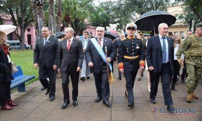 Colombi y Ríos volvieron a mostrarse juntos por el Día de la Independencia