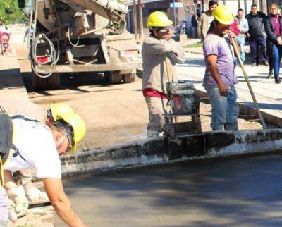 Licitan obra de pavimentación