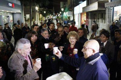 """El Intendente de la Capital inauguró la segunda semipeatonal en el microcentro de la """"Madre de ciudades"""""""
