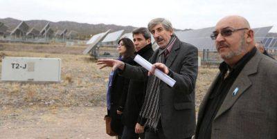 Amplían la planta solar de Ullum, la primera que tuvo la provincia