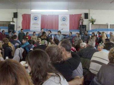 El Frente Socialista y Popular presentó sus candidatos en General Pueyrredón
