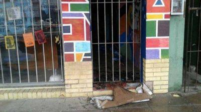 Conurbano caliente: ataque vandálico a local de Unidad Ciudadana