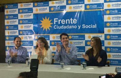 """""""Somos el frente que le va a poner un límite a la política de ajuste de Mauricio Macri"""""""