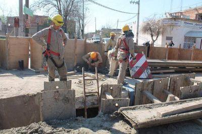 Finalizó la construcción de la red de refuerzo de agua potable en Fiorito