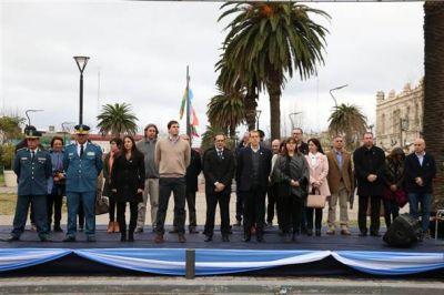 Se celebró el Día de Independencia en el Centro Cívico
