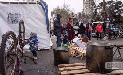 Cooperativistas llegaron a un acuerdo y levantaron el acampe en el municipio