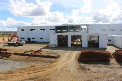 Melella firmó el llamado a licitación para el abastecimiento de energía a la nueva planta potabilizadora