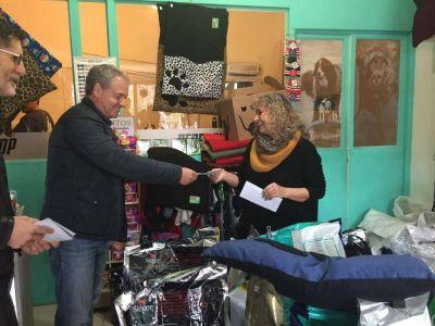 [#GolpeadosPorLaCrisis] Artime conversó con los comerciantes de la calle Alberti