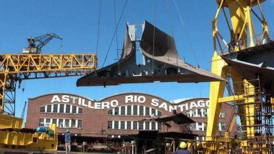 Trabajadores de Astillero Río Santiago marcharán para pedir la reactivación del predio naval