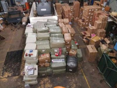 Aduana de Chile detuvo contrabando millonario con destino Río Gallegos