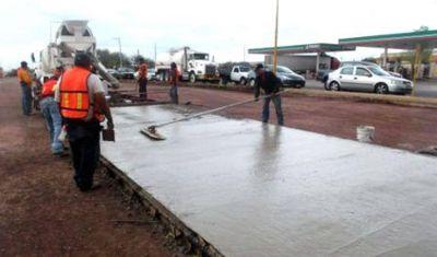 El Gobierno pavimentará 300 kilómetros de rutas, avenidas y calles del conurbano bonarense