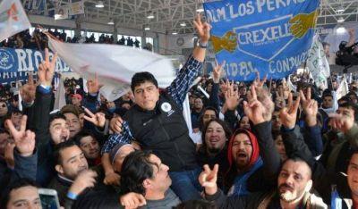 Contundente apoyo de petroleros a la gestión de Claudio Vidal