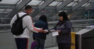 Luego de liberar molinetes, Metrodelegados advierten por paros