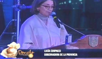La Gobernadora dejó inaugurada una nueva edición de la Fiesta del Poncho