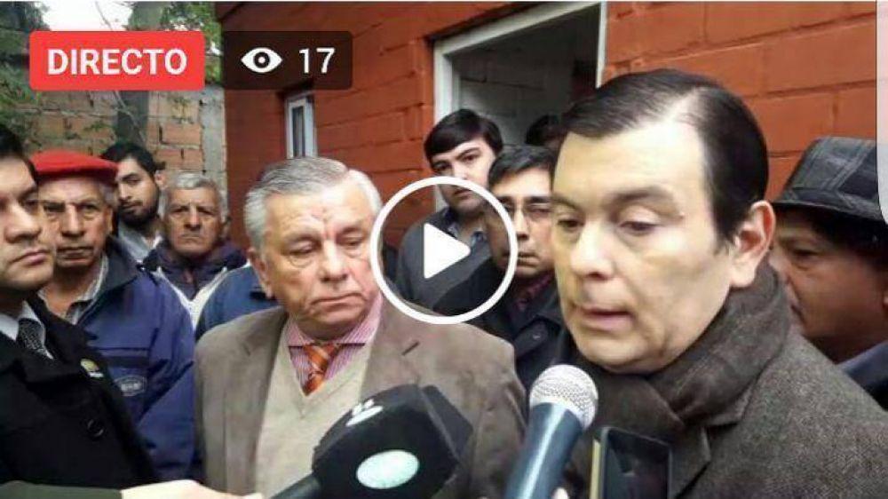 Gerardo Zamora y Hugo Infante inauguraron viviendas sociales ecológicas