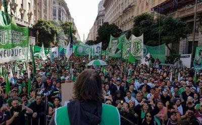Marchas en el centro porteño por el salario y por Pepsico