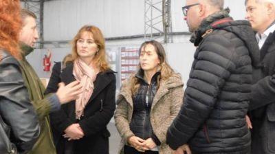 Visita de candidatos a senadores provinciales de Unidad Ciudadana