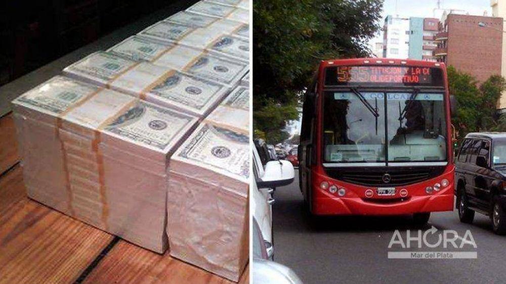 Choferes fantasma: la ruta del dinero y 400 mil dólares termosellados