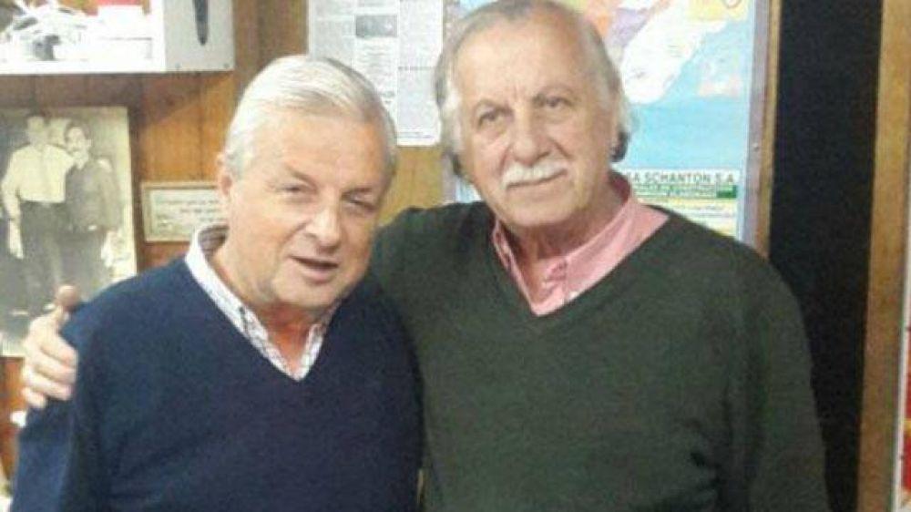 Lauritto se mostró junto al impulsor de su candidatura a gobernador