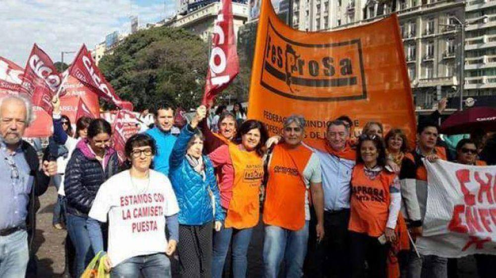 AProSa nacionaliza su reclamo y pide respuestas del gobierno