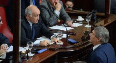 Vidal y el massismo dejaron sin quórum el Senado para evitar un repudio a la represión