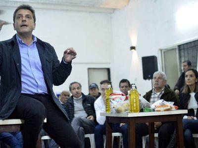 "Desde La Plata, Massa evitó criticar a Clarín: ""No soy calificador de titulares de diarios"""