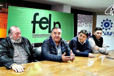 Con eje en la producción y el comercio, la FELP recibió a los candidatos de Alternativa Vecinal Platense