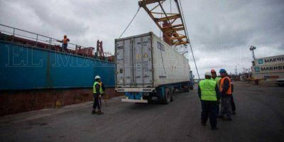 Las exportaciones por el Puerto local se duplicaron en el primer semestre