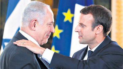 Francia pide una solución de dos estados