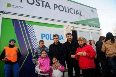 Avanza el plan de postas policiales en Hurlingham: Zabaleta inauguró la quinta