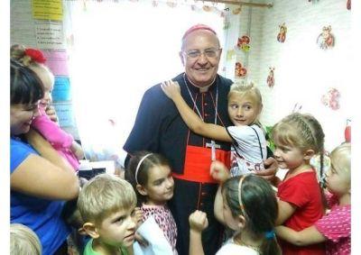 Satisfacción del Cardenal Sandri tras su visita a Ucrania