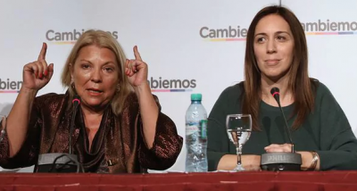 El aporte de Carrió: un intento para neutralizar la caída de CAMBIEMOS