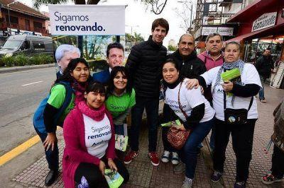 El massismo de San Fernando inició su campaña para las legislativas 2017