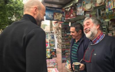 Elecciones 2017: Dietrich recorrió San Fernando en apoyo a los precandidatos del oficialismo