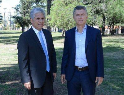 Macri lanzó la campaña de Avanzar y Cambiemos en una radio de Villa Mercedes