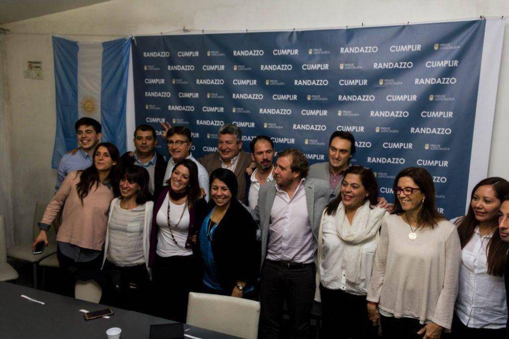 """Maraude presentó su lista: """"Somos la renovación dirigencial"""""""