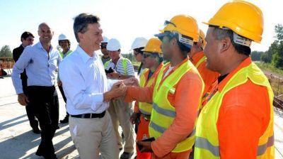 Campaña full time: Macri pone en marcha obras en terreno ultra K