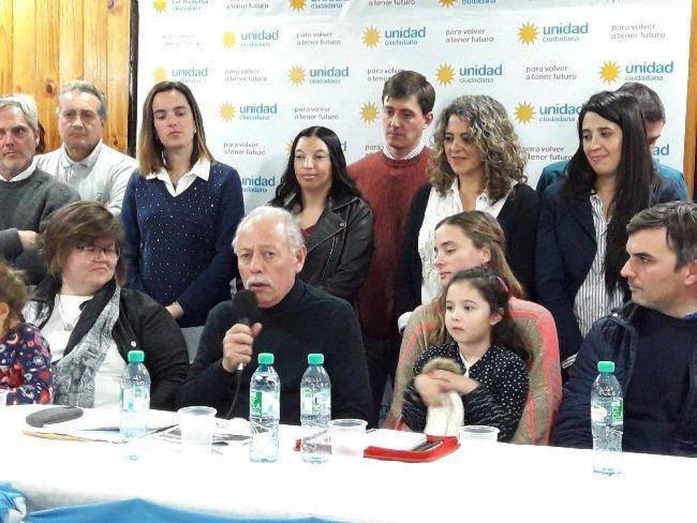"""Con la premisa de """"volver a tener futuro"""", Unidad Ciudadana presentó precandidatos"""