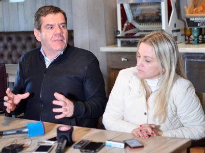 En City Bell, Montenegro y Píparo hablaron de seguridad y no descartaron debatir imputabilidad