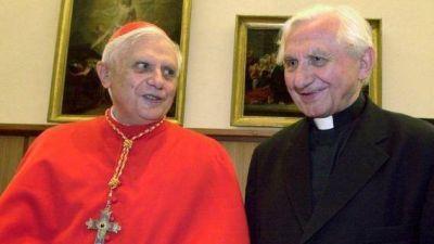 De Joseph a Georg; instrumentalizaciones sobre los hermanos Ratzinger