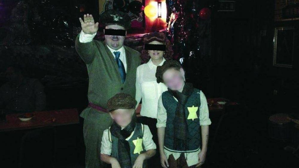 Escocia: escándalo por una fiesta con disfraces de Hitler y niños en el Holocausto