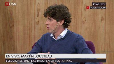 Martín Lousteau, en C5N: