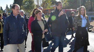 Bordet y Bahl por primera vez juntos en la campaña